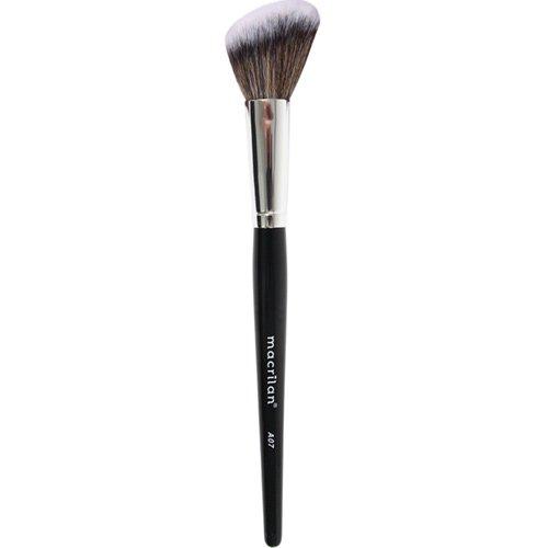 Pincel A07 profissional angular para blush Macrilan - Linha Max