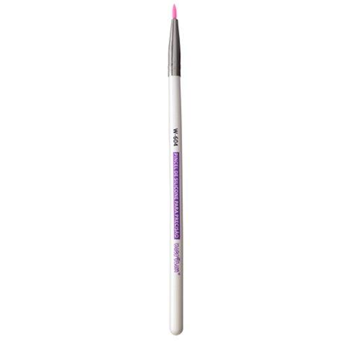 Pincel W604 profissional de silicone para precisão Macrilan - Linha W