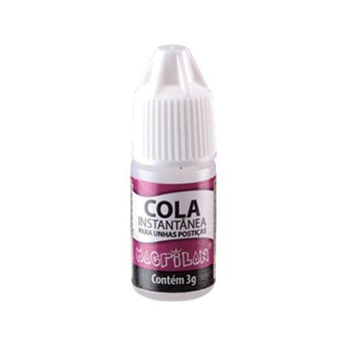 Cola CA-003 instantanea para unhas postiças transparente Macrilan