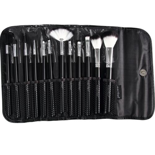 Kit KP1-28 com 12 pincéis para maquiagem Macrilan4
