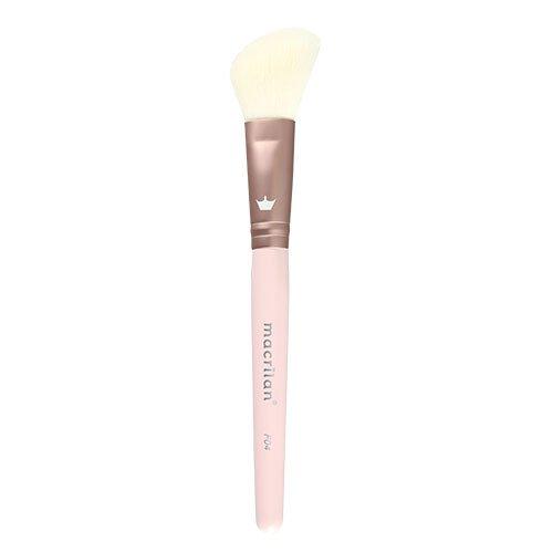 Pincel F04 Profissional para blush Macrilan - Linha BFF_1