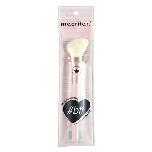 Pincel F04 Profissional para blush Macrilan - Linha BFF_emb