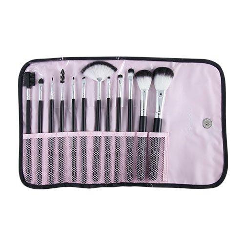 Kit KP1-5L com 12 pincéis para maquiagem Macrilan