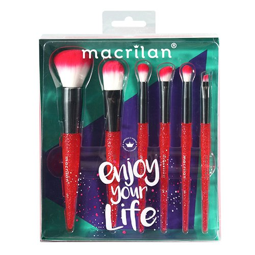 Kit KP10-3 Enjoy your life Macrilan - Vermelho