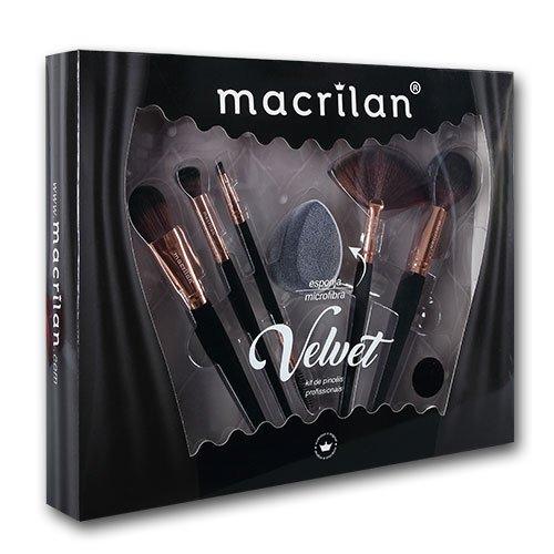 Kit ED010A Velvet Preto Macrilan